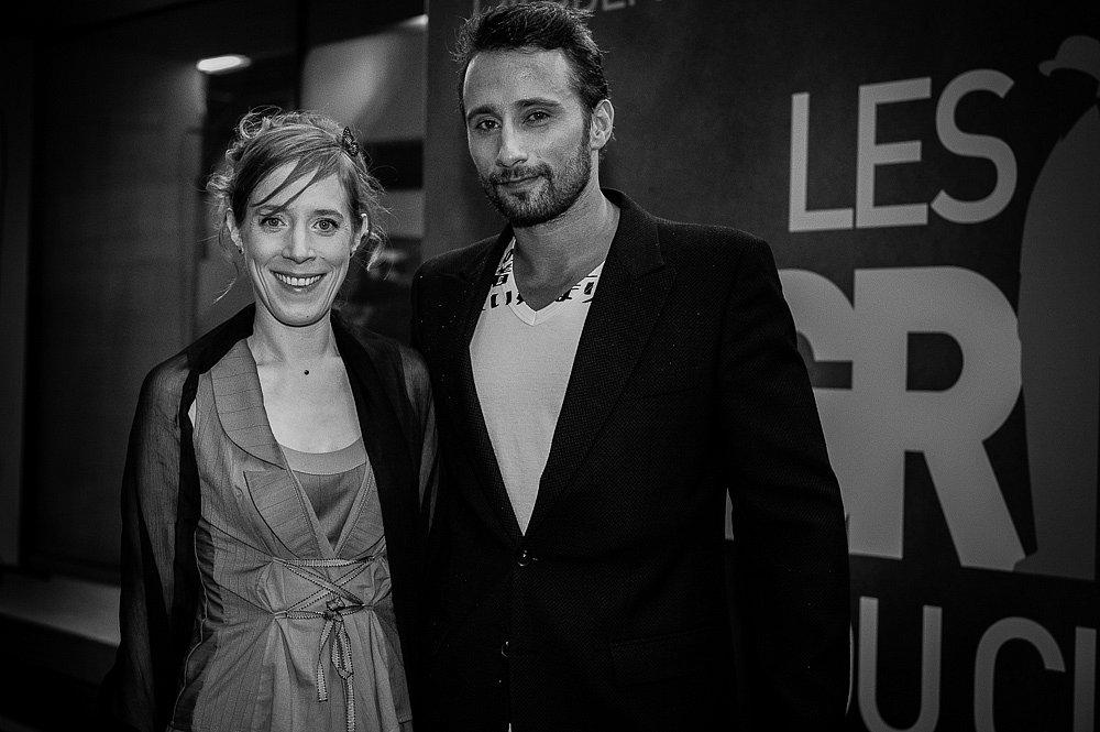 Christelle Cornil et Matthias Schoenaerts, 2011