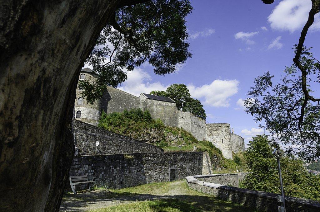 La tour aux Chartes depuis les remparts