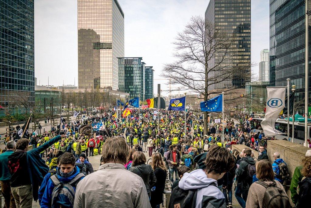 Marche pour le climat • Bruxelles • 31 mars 2019