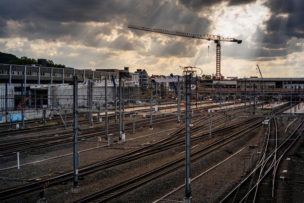 Août • Namur en travaux...